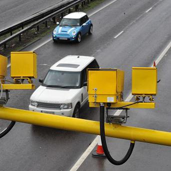 The cameras are set to focus on accident blackspots