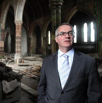 Environment Minister Alex Attwood gave temporary protection for the site last summer