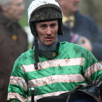 File photo dated 11/12/2009 of Jockey JT McNamara, who suffered a serious neck injury at Cheltenham races is in a