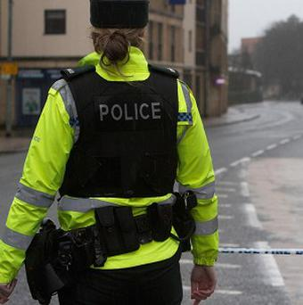 Police are investigating after a car-jacking in west Belfast