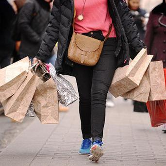 Shoppers in Northern Ireland have gained renewed confidence with more people venturing into stores, it was revealed