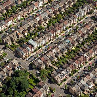 House prices are up more than two per cent on a year ago, according to new figures