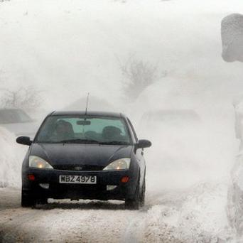Wintry showers are set to move in across the country within days.
