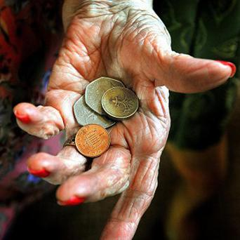 Hard-pressed elderly householders find it difficult to make ends meet as frigid conditions persist in Northern Ireland, Age Sector Platform claimed