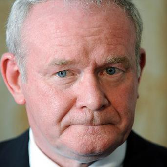 Martin McGuinness said the UK Government is unwilling to act on devolving corporation tax until after the Scottish referendum