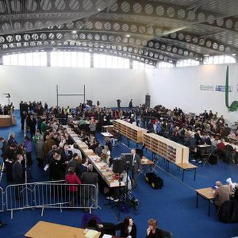 Counting begins in the Meath East by-election at Donaghmore GAA club