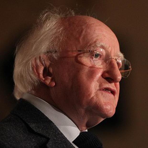 President Michael D Higgins condemned the 'moral affront of poverty, created and sustained by gross inequalities across the world'