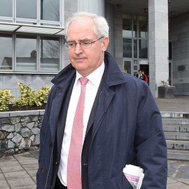 Obstetrician Dr Peter Boylan at the inquest into the death of Savita Halappanavar