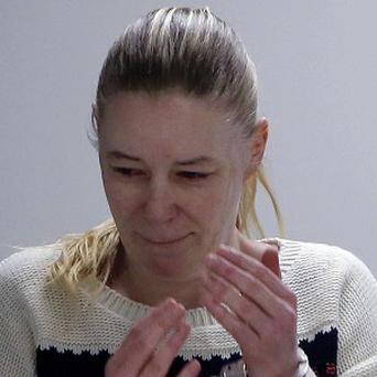 Irish nanny Aisling Brady McCarthy appears at Middlesex Superior Court (AP)