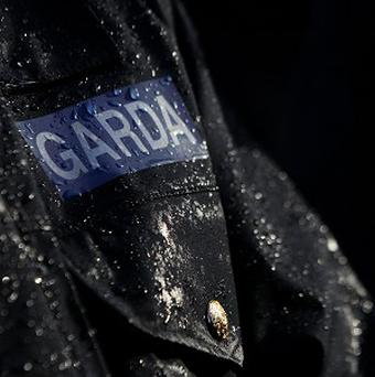 Gardai have arrested a man following an armed robbery in Co Kildare