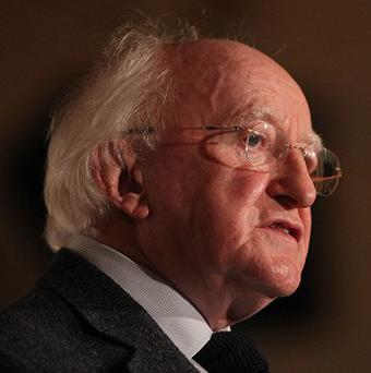 President Michael D Higgins denied overstepping the mark with outspoken criticism of the EU