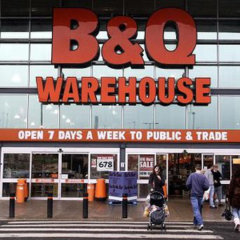 Kingfisher owns DIY giant B&Q