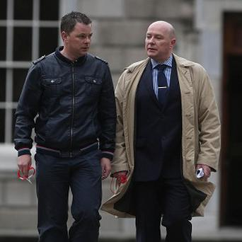 Oliver, left, and Austin Stack are the sons of Brian Stack, the only prison officer to be assassinated in the Republic of Ireland