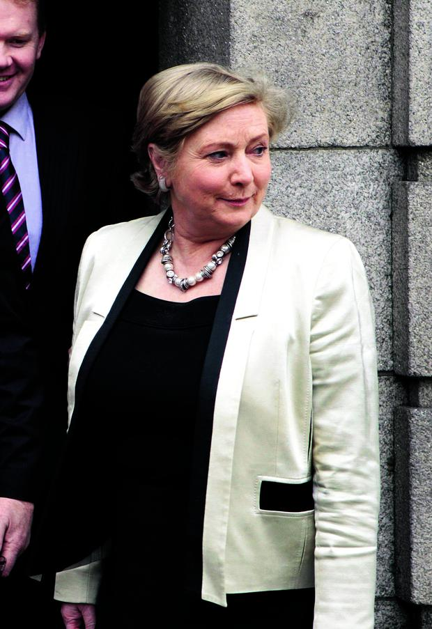 Frances Fitzgerald: welcomed move