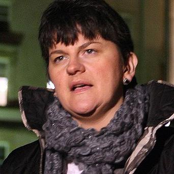 Northern Ireland energy minister Arlene Foster said consumers are paying because of the failure to build the cross-border electricity interconnector