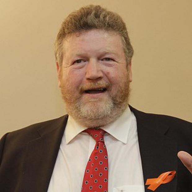 Health Minister James Reilly said he will establish a Children's Hospital group comprising the three existing children's hospitals