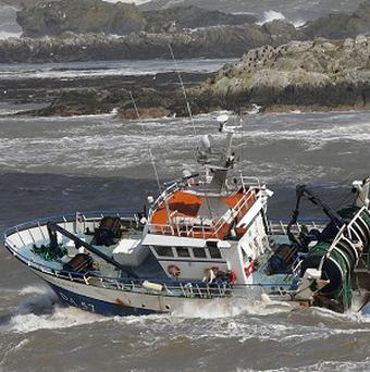 Irish fishermen previously warned that a European ban on dumping dead fish at sea is the wrong tactic