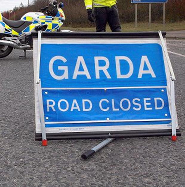 A man has died in a road accident in Co Clare