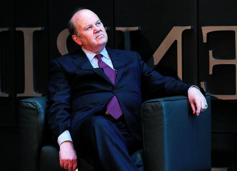 Michael Noonan at the official opening of Capita's new Dublin office at Grand Canal Square