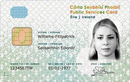 New public services ID card