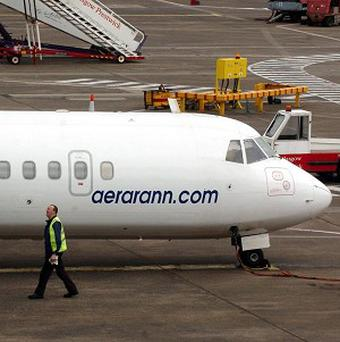 Aer Arann operates 550 flights a week across 27 routes in Ireland, the UK and France