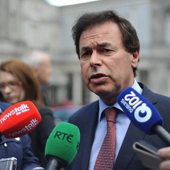 Alan Shatter confirmed he was stopped at a garda checkpoint several years ago and failed to give a breath test blaming his asthma