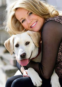 Broadcaster Claire Byrne has launched a new initiative to end the needless destruction of the nation's unwanted dogs and cats.