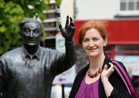 Writer Emma Donoghue pictured at Listowel Writers Week. Photo: Don MacMonagle