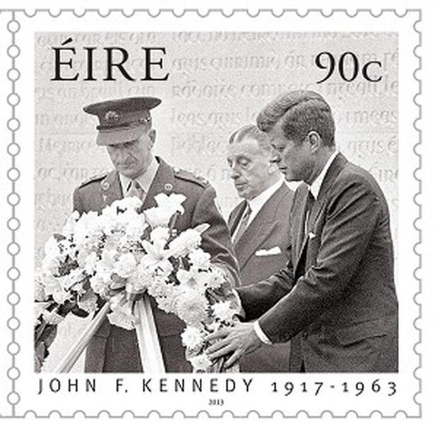 New stamps have been issued marking the 50th anniversary of President John F Kennedy's historic visit to Ireland (An Post)