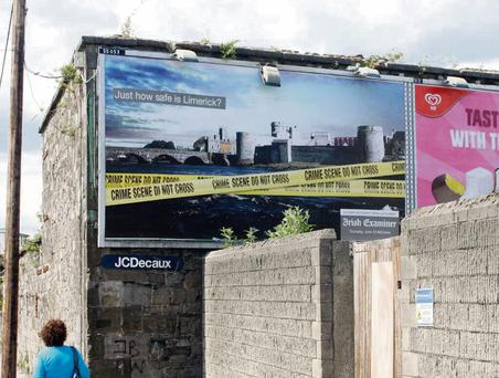 The 'Irish Examiner' billboard that sparked anger in Limerick