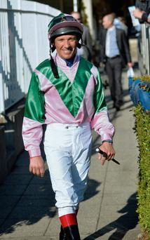 Franki Dettori at Leopardstown