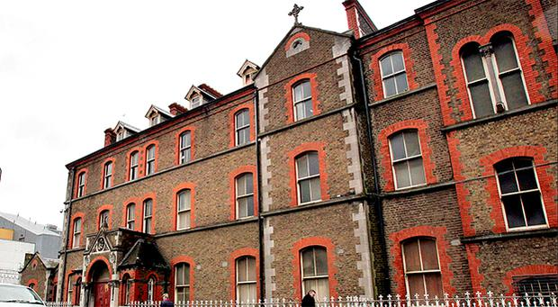 The exterior of the now derelict Sisters of Our Lady of Charity Magdalene Laundry on Sean McDermott St in Dublin's north inner city