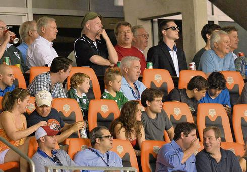 Sean Dunne watches on as Ireland beat US Eagles 15-12 in Houston Texas