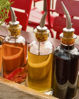 Healthy oils: credited with reducing the risk of cancer