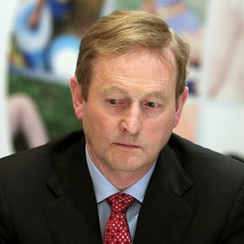 Enda Kenny said he expects Justice Minister Alan Shatter to bring the report to Cabinet this month