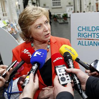 Children's Minister Frances Fitzgerald said more funding is needed to improve standards in Ireland's childcare sector