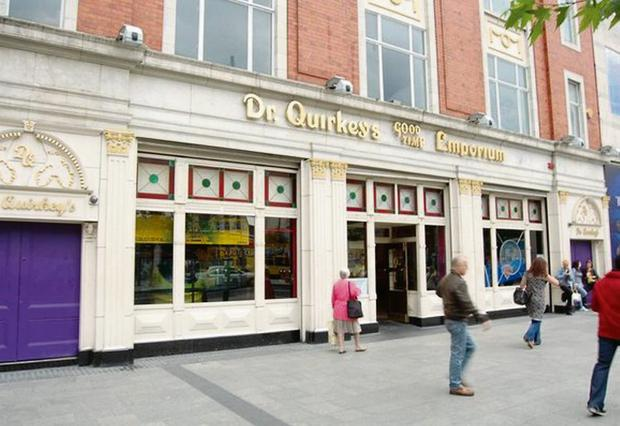 Dr Quirkey's amusement arcade