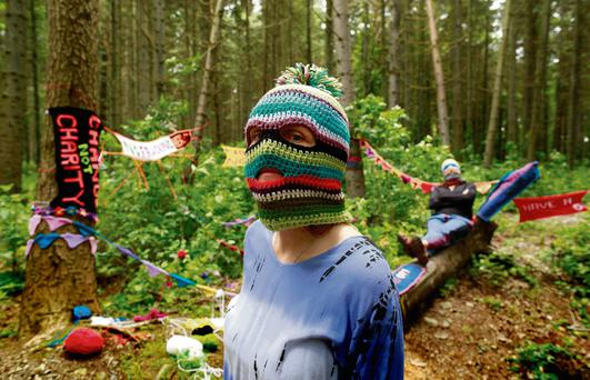 Yarn bombers plan to target the G8 summit with their guerrilla knitting