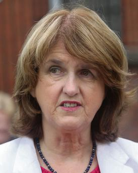 Joan Burton, T.D., Minster for Social Protection