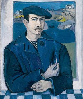 TIMELESS TALENT: This self-portrait of Gerard Dillon will be among the works displayed at the exhibition