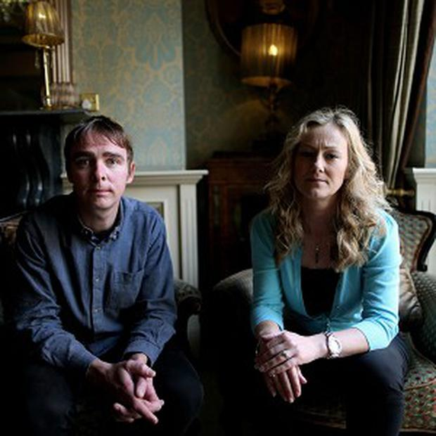 Sarah McGuinness and James Burke of Terminations for Medical Reasons