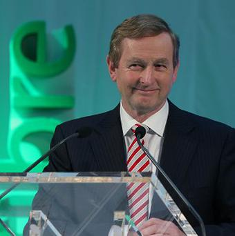 Taoiseach Enda Kenny is visiting Brussells for the final European Council meeting of the Irish Presidency
