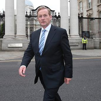 Taoiseach Enda Kenny has been attacked over his handling of the Anglo Irish Bank tapes scandal