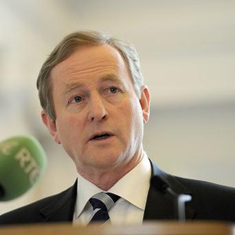 Taoiseach Enda Kenny has repeated his call for a parliamentary inquiry into the bank guarantee and bailout