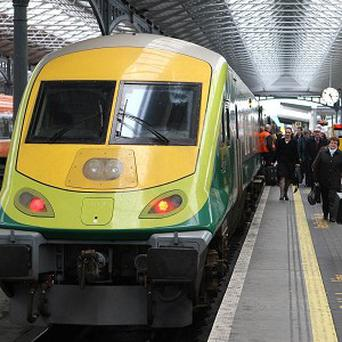 Services operating to and from Heuston station have been severely disrupted