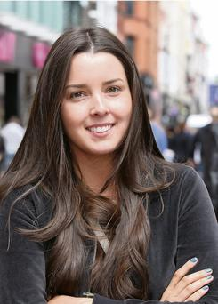 Jade Breen from Rathfarnham pictured on Dublin's Grafton Street. Pic Frank Mc Grath