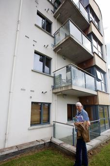 Leo Lieghio helped the boy who fell from the third floor of Belfry Hall, Citywest