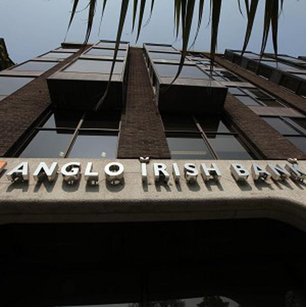 Board members of the Anglo Irish Bank handed over taped conversations of senior bankers to gardai