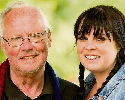 PROJECT: Brendan Kennelly and his daughter Doodle