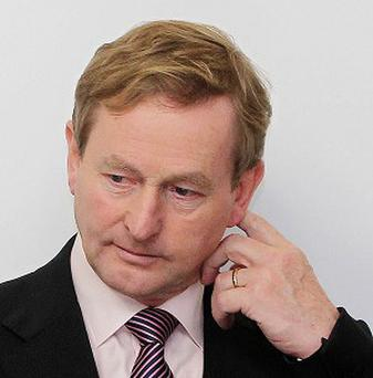 Taoiseach Enda Kenny has met relatives of the so-called Disappeared